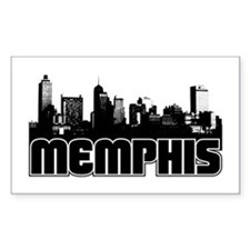 Memphis Skyline Decal