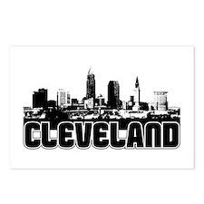 Cleveland Skyline Postcards (Package of 8)