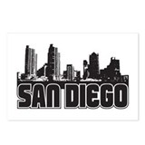 San Diego Skyline Postcards (Package of 8)