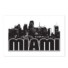 Miami Skyline Postcards (Package of 8)