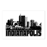 Indianapolis Skyline Postcards (Package of 8)