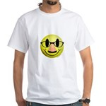 Groucho Smiley White T-Shirt