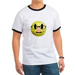 Groucho Smiley Ringer T