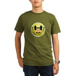 Groucho Smiley Organic Men's T-Shirt (dark)