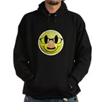 Groucho Smiley Hoodie (dark)