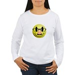 Groucho Smiley Women's Long Sleeve T-Shirt