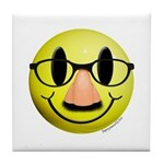 Groucho Smiley Tile Coaster