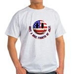July 4th Smiley Light T-Shirt