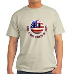 July 4th Smiley Light T-Shirt