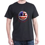 July 4th Smiley Dark T-Shirt