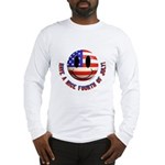 July 4th Smiley Long Sleeve T-Shirt