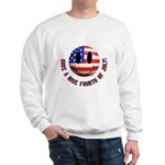 July 4th Smiley Sweatshirt