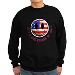 July 4th Smiley Sweatshirt (dark)
