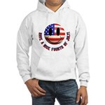 July 4th Smiley Hooded Sweatshirt