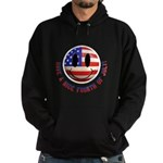 July 4th Smiley Hoodie (dark)
