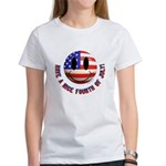 July 4th Smiley Women's T-Shirt