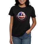 July 4th Smiley Women's Dark T-Shirt