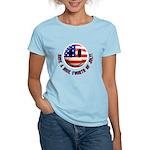 July 4th Smiley Women's Light T-Shirt