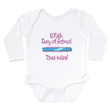 School Fun Days Long Sleeve Infant Bodysuit