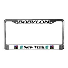 Cute York License Plate Frame