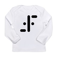 V Symbol Visitors TV Long Sleeve Infant T-Shirt