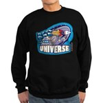 Best Dad in the Universe Ligh Sweatshirt (dark)