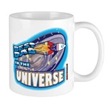 Best Dad in the Universe Ligh Mug