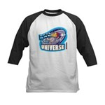 Best Dad in the Universe Ligh Kids Baseball Jersey