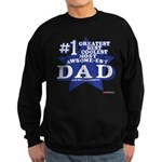 Greatest Coolest DAD Sweatshirt (dark)