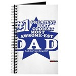 Greatest Coolest DAD Journal