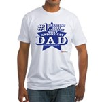 Greatest Coolest DAD Fitted T-Shirt