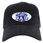 Greatest Coolest DAD Black Cap