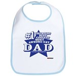 Greatest Coolest DAD Bib