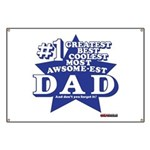 Greatest Coolest DAD Banner