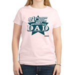 #1 Dad Women's Light T-Shirt