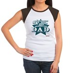 #1 Dad Women's Cap Sleeve T-Shirt