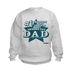 #1 Dad Kids Sweatshirt