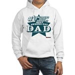 #1 Dad Hooded Sweatshirt