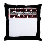 Slide Your Chips Throw Pillow