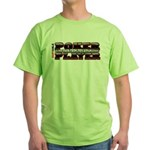 Slide Your Chips Green T-Shirt