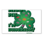 Kiss Me... I'm Drunkish! Sticker (Rectangle 10 pk)