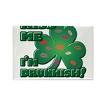 Kiss Me... I'm Drunkish! Rectangle Magnet