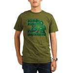 Kiss Me... I'm Drunkish! Organic Men's T-Shirt (da