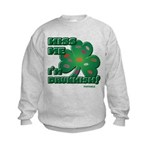 Kiss Me... I'm Drunkish! Kids Sweatshirt