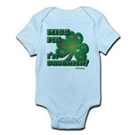 Kiss Me... I'm Drunkish! Infant Bodysuit