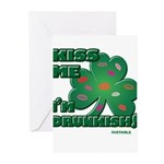 Kiss Me... I'm Drunkish! Greeting Cards (Pk of 10)