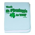St Patrick's Day t-shirt, Mr baby blanket