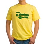 St Patrick's Day t-shirt, Mr Yellow T-Shirt