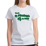 St Patrick's Day t-shirt, Mr Women's T-Shirt