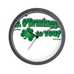 St Patrick's Day t-shirt, Mr Wall Clock